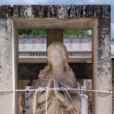 Sisma - Il cimitero di Norcia