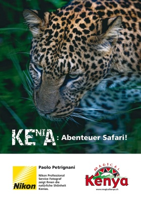 Campagna pubblicitaria in Germania del ministero del turismo del Kenya
