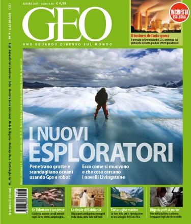 I Nuovi Esploratori / Geo Magazine 2011 cover