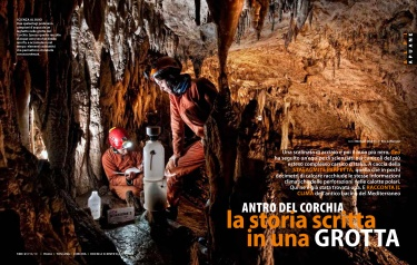 Antro del Corchia, la storia scritta in una grotta/Geo Magazine Italia