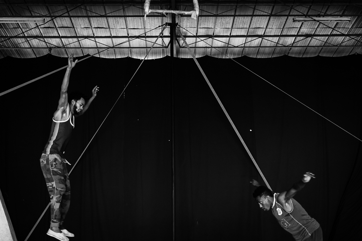 """(2017) Fekat Circus in Addis Ababa, Fekat Circus, which in Amharic means """"blossoming circus"""", was born in 2004 in the outskirts of Addis Ababa out of the initiative of a group of young Ethiopians united by a deep and unique"""
