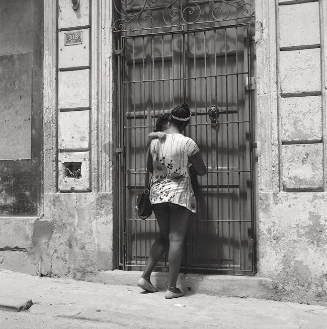 Mère et fille La Havane Cuba