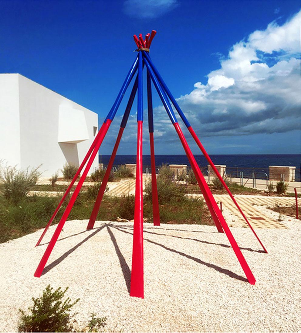TEPEE . 2014 - Acquisizione del Museo Pino Pascali, Polignano a Mare, 2015