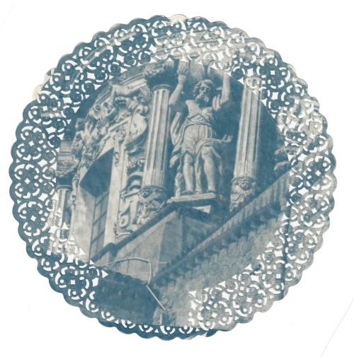 Particolare della cupola della Chiesa del Carmine maggiore